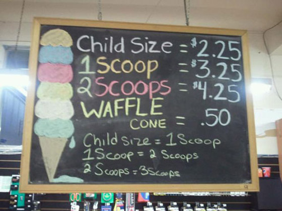 Scoop-Sign