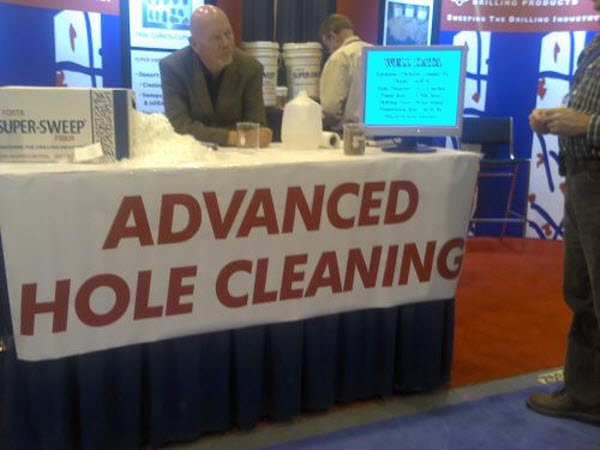 Hole cleaning