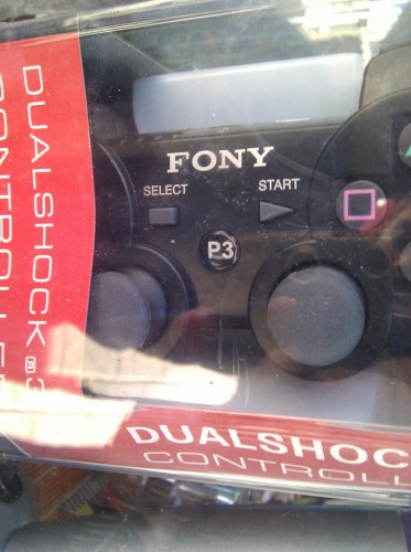Fony game controller