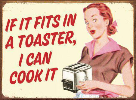Toaster cooking