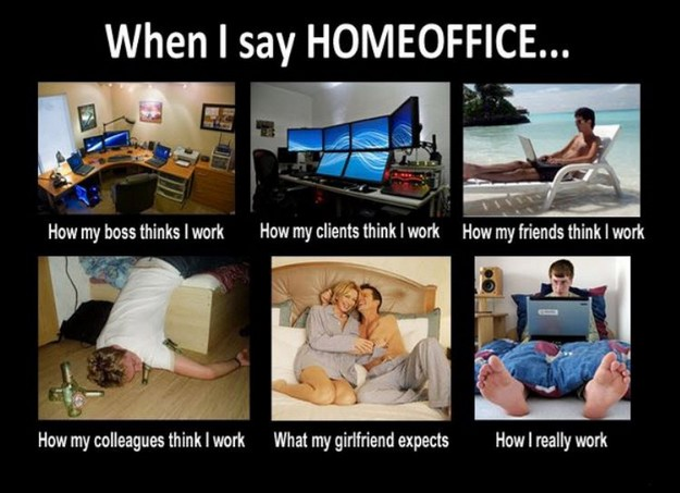 When I say Homeoffice