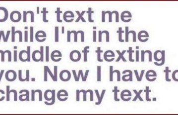 Dont text me