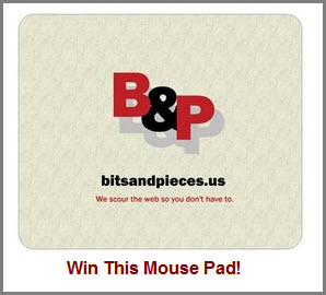 Win this mouse pad
