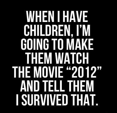 I saurvived 2012