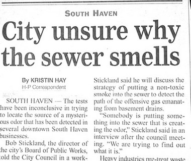 Sewer news