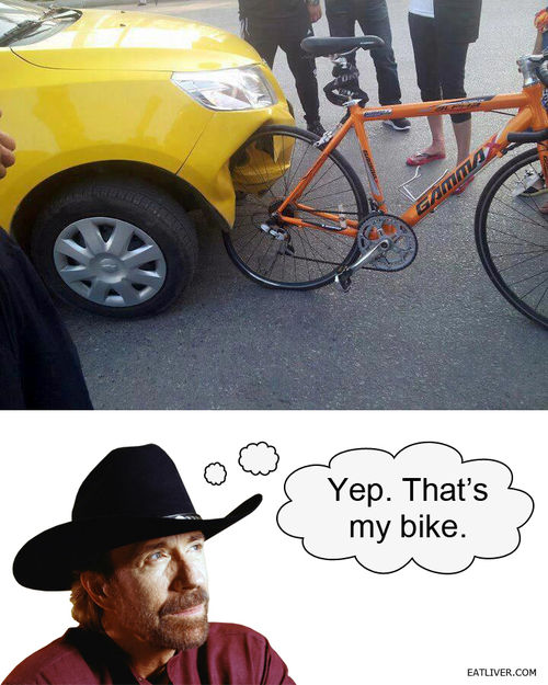 Chuck Norris' bike