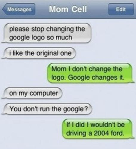 Changing the google