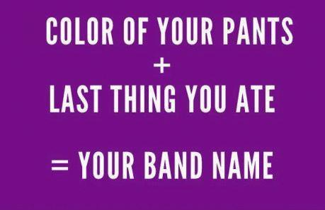 Your band name