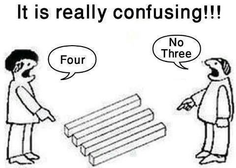 It's really confusing