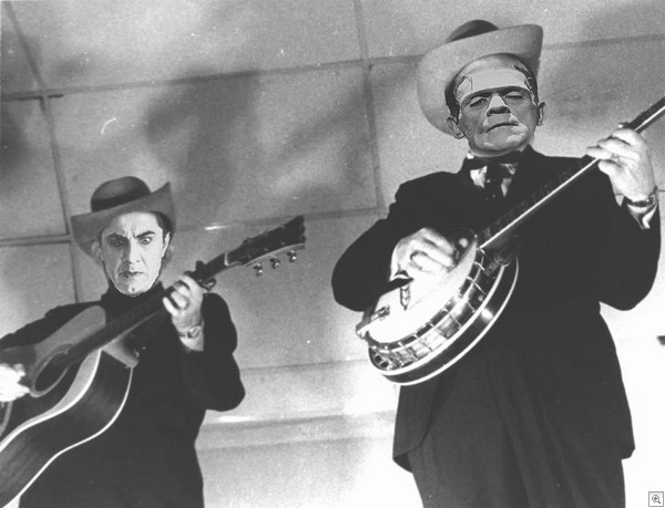 Earl and Scruggs frankenstein