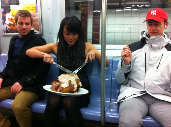 Subway Thanksgiving