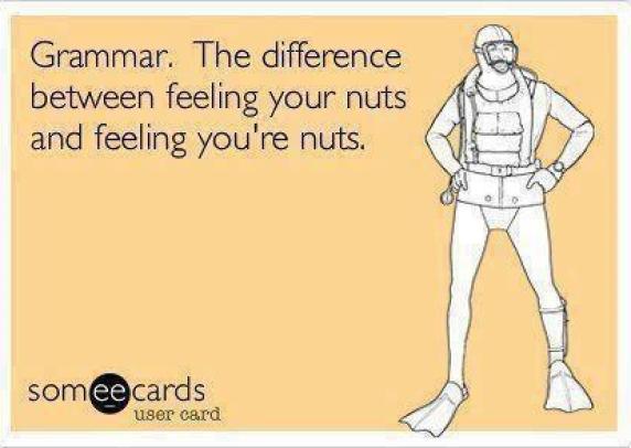 Grammar nuts