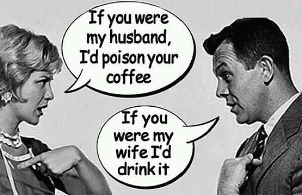 Poison coffee