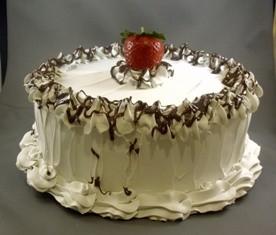 White lie cake
