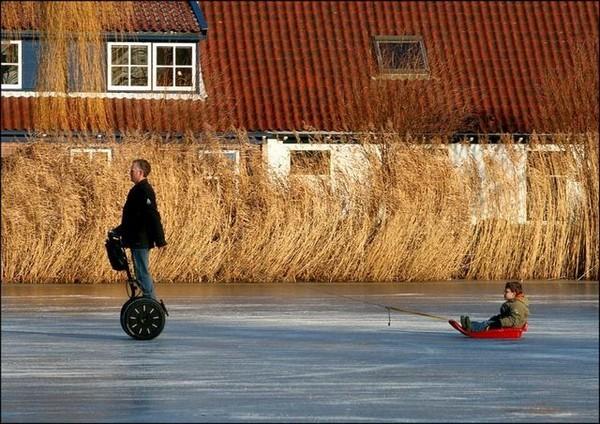 1 percent sledding