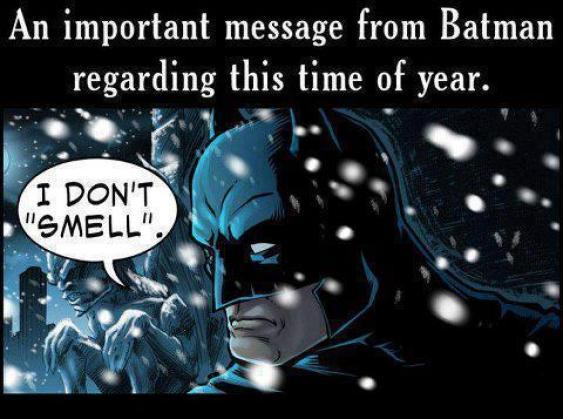 A message about batman