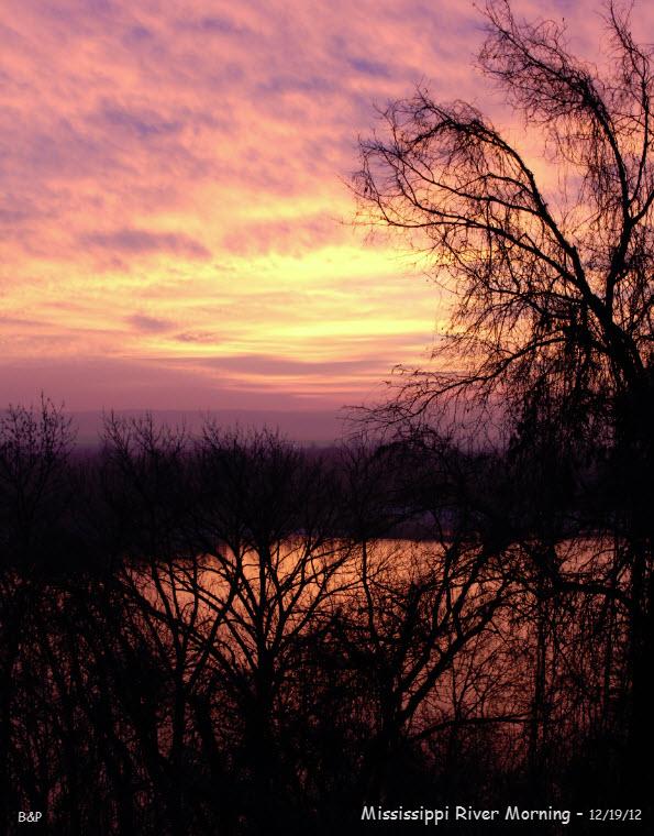 Mississippi River Morning