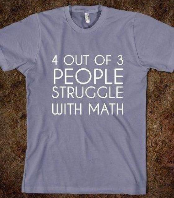 4 out of 3 struggle