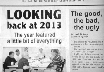 Looking back at 2013