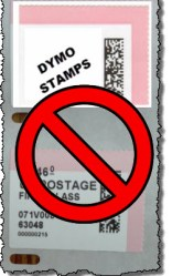 Dymo Stamps is a Rippoff | Bits and Pieces