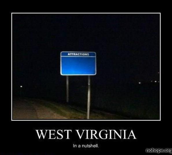 West virginia in a nutshell