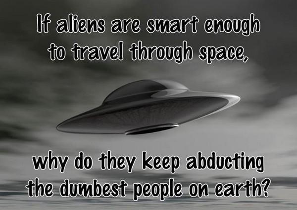 Aliens aren't that smart