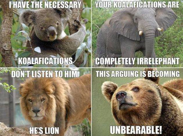 Animal arguments