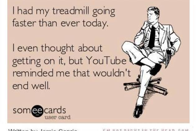 Fast treeadmill