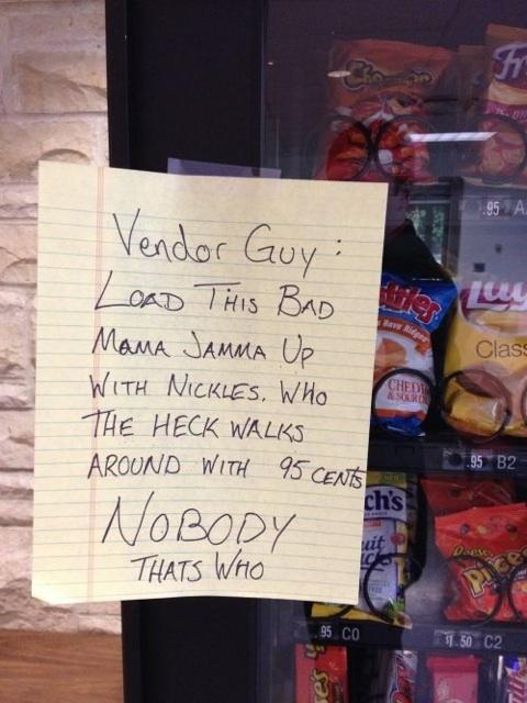 Vendor guy