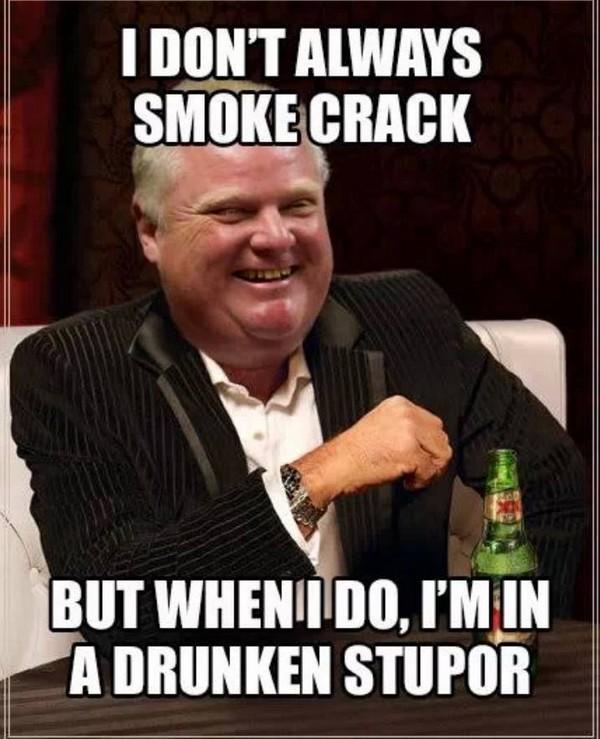 I dopn't always smoke crack