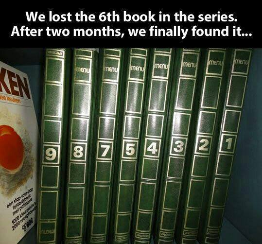Missing book