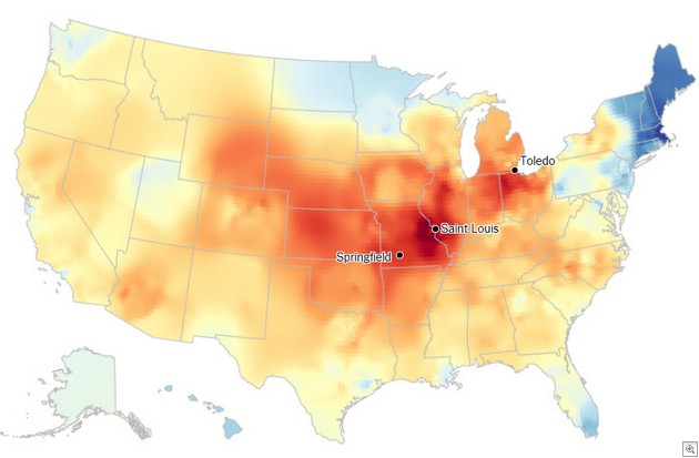 Dialect quiz results