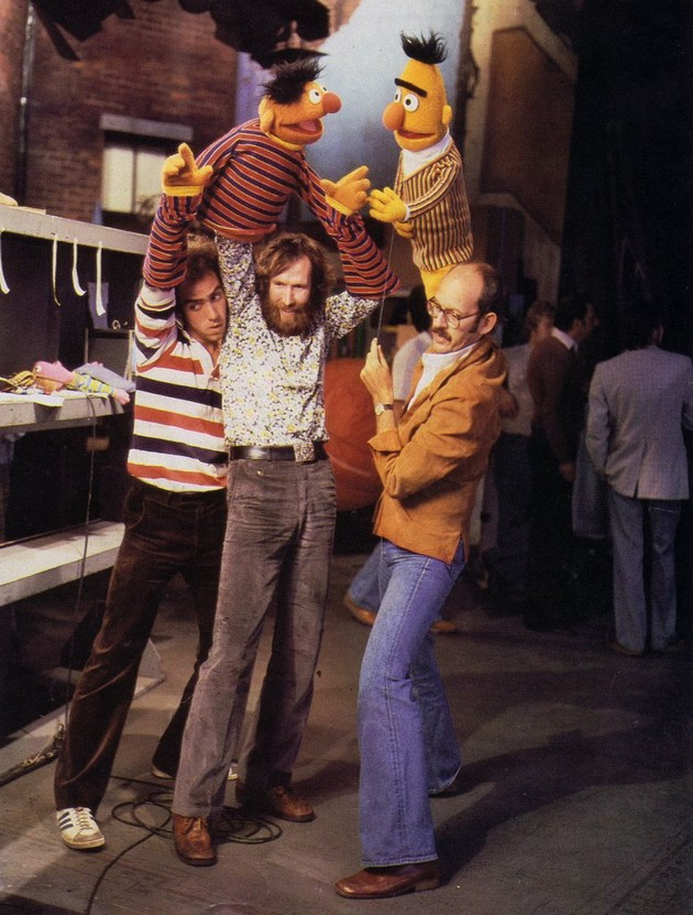 Up bert and ernie