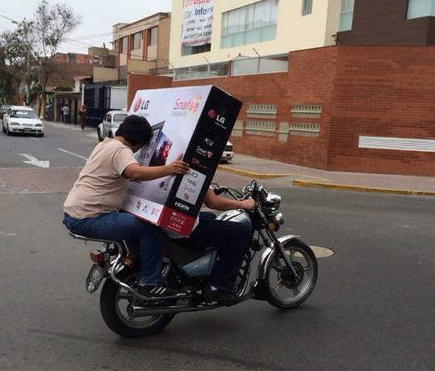Tv delivery2