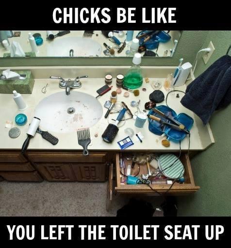 Chicks be like