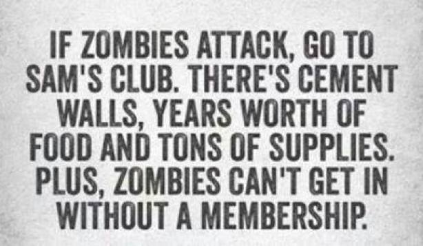 If zombies attack