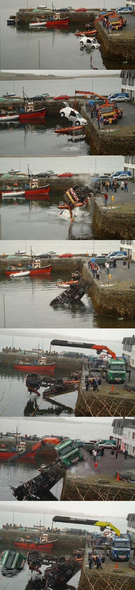 Wreck recovery