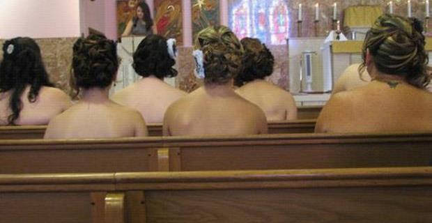 never letr your bridesmaids go strapless