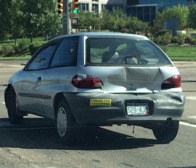 I brake for tailgaters