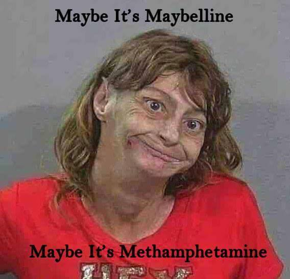 Maybe it's Maybeline