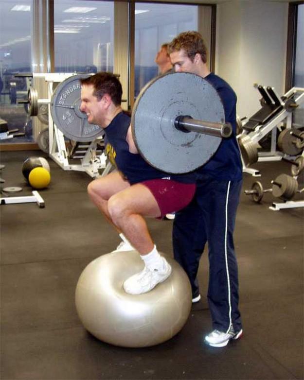 Weight lifting fool