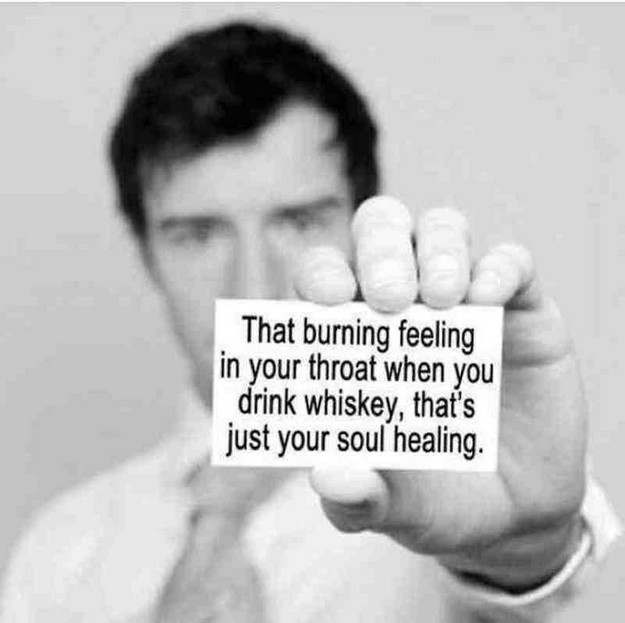 That burning feeling