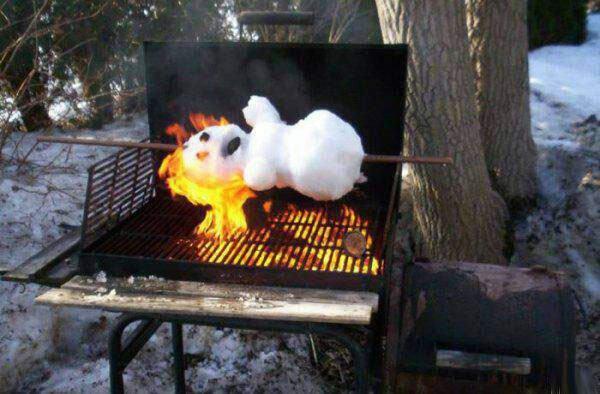 Winter grill
