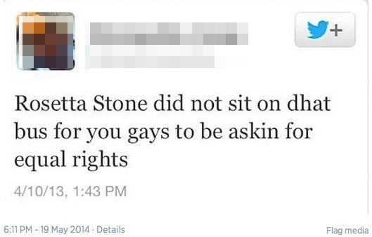 Rosetta Stone's sacrifice