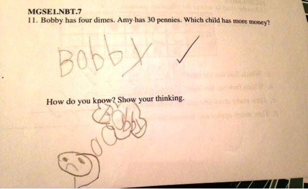 I'd give Bobby an A