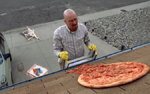 In the future, when drones deliver pizzas...