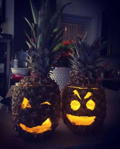 halloween-pineapples