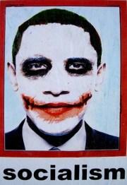 Barack Obama as the Joker