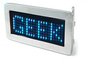 Hebilla de cinturón con LEDS !