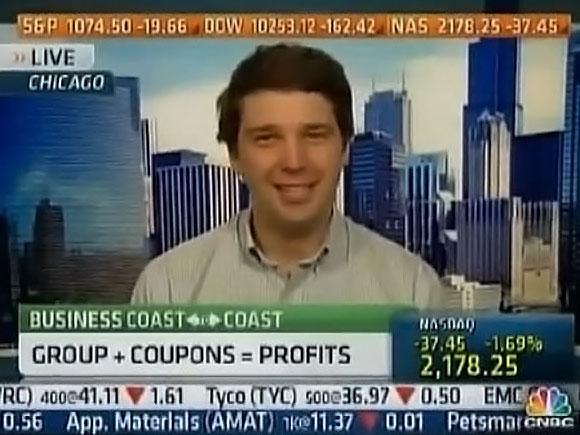 Andrew Mason creador de Groupon